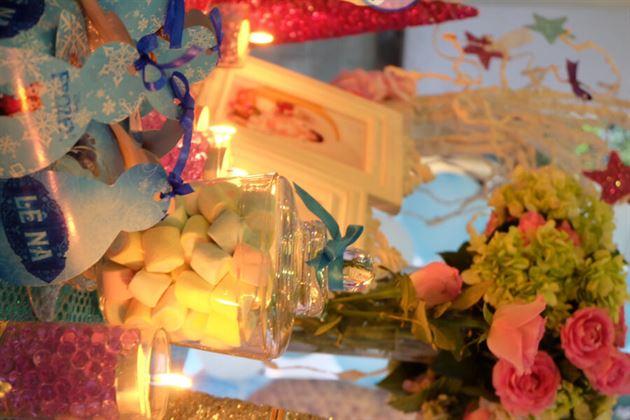 bàn sinh nhật lung linh