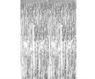 Rèm kim tuyến màu bạc