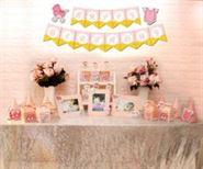 Set mini baby girl màu hồng hoàng gia
