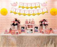 Set mini công chúa màu hồng hoàng gia