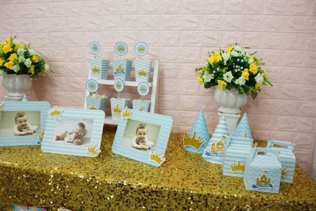 Set mini trang trí bàn tiệc đầy đặn