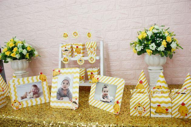 Set phụ kiện mini trang trí sinh nhật bé trai