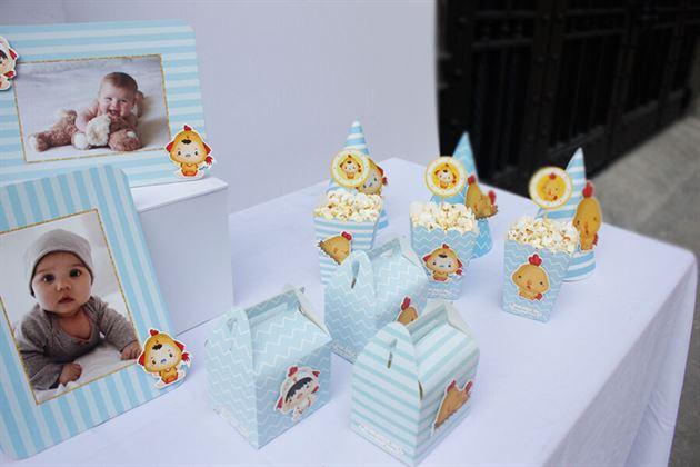 Set mini phụ kiện sinh nhật bé gà con