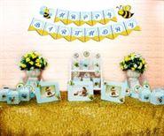 Set mini bé ong màu xanh da trời
