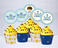 Tem bánh cupake Hoàng Tử