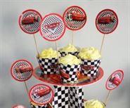 Tem Bánh Cupcake Mc Queen