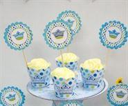Tem Bánh Cupcake Hoàng Tử