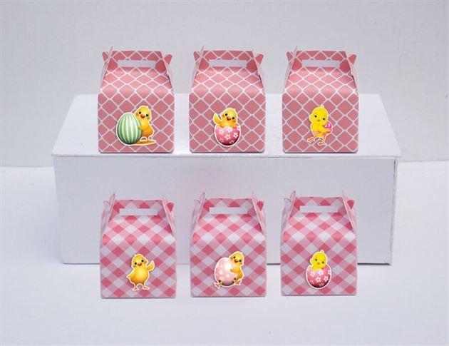 Tem hộp quà sinh nhật bé gái tuổi gà