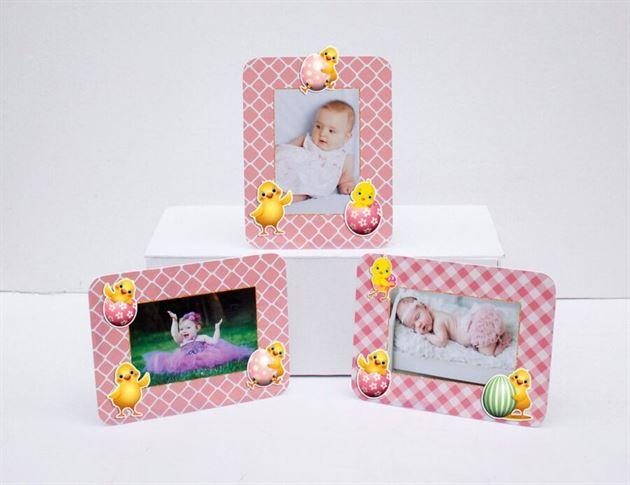 Tem khung hình sinh nhật bé gái tuổi gà