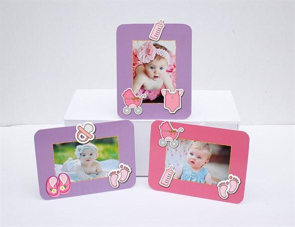 Tem khung hình sinh nhật baby girl