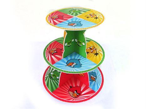 Kệ bánh kem sinh nhật chủ đề Angri Birds