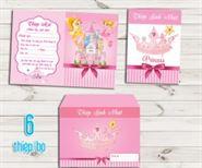 Thiệp mời sinh nhật công chúa
