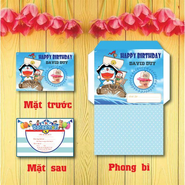 Thiệp sinh nhật Doraemon