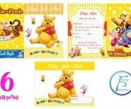 Thiệp Sinh Nhật Gấu Pooh
