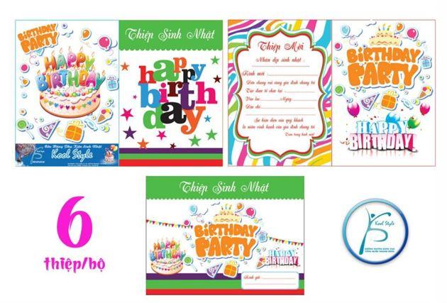 Thiệp Sinh Nhật Happy Birthday
