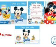 Thiệp Sinh Nhật Mickey