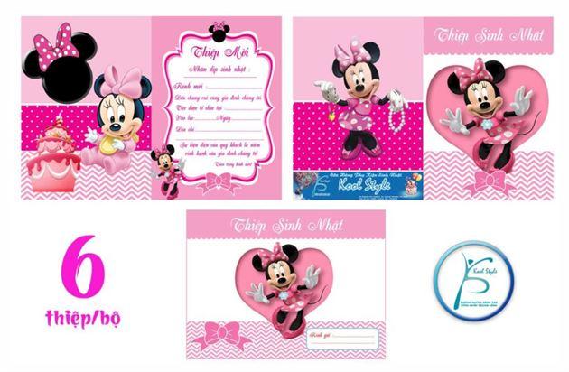 Thiệp Sinh Nhật Minnie