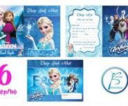 Thiệp mời sinh nhật Frozen