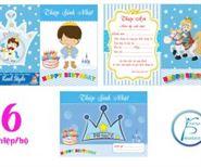 Thiệp mời sinh nhật Hoàng Tử