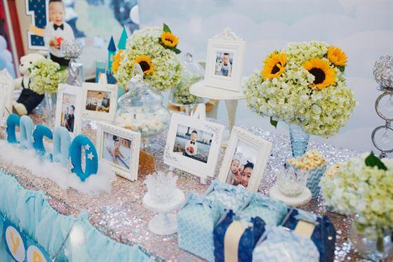 trang trí bàn sinh nhật cho bé
