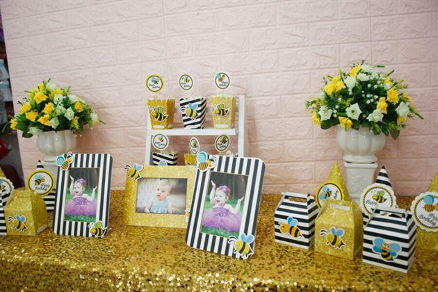 Set mini trang trí bàn tiệc sinh nhật