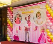 Sân khấu sinh nhật Búp Bê Baby