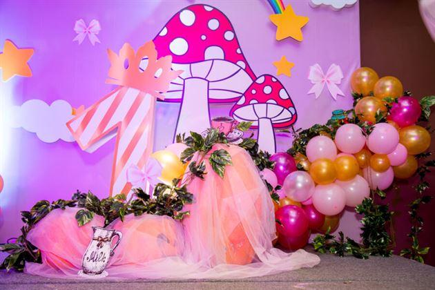 Trang trí sân khấu chủ đề công chúa
