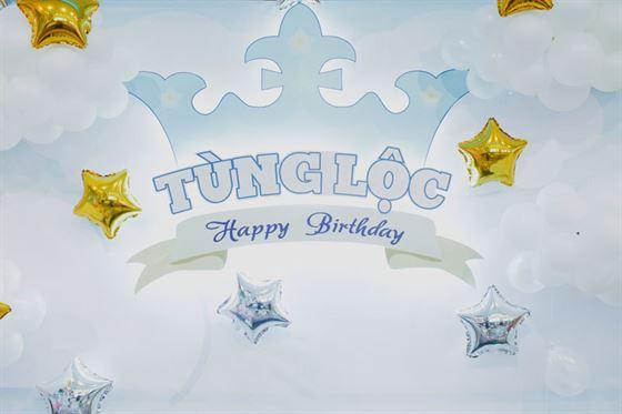Trang trí sinh nhật Hoàng Tử