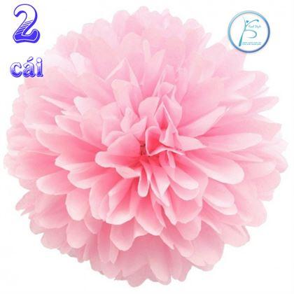 Tú Cầu Giấy màu hồng phấn