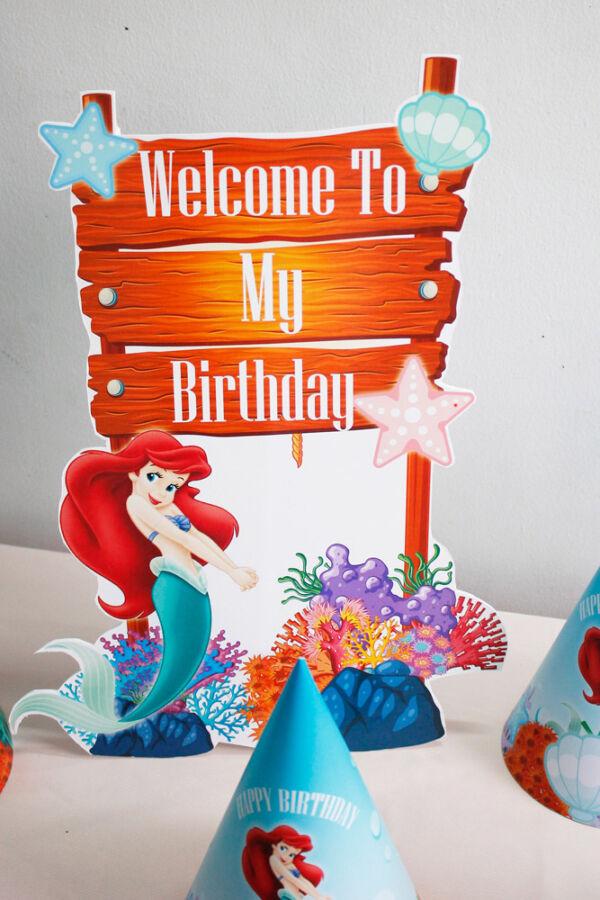 Cây welcome sinh nhật bé gái