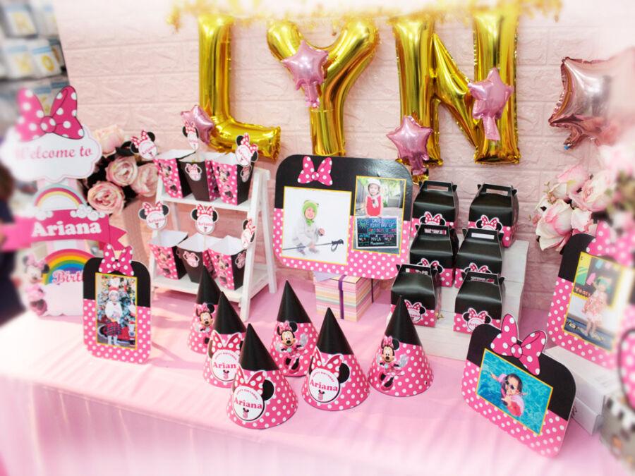 Trọn bộ phụ kiện sinh nhật Minnie