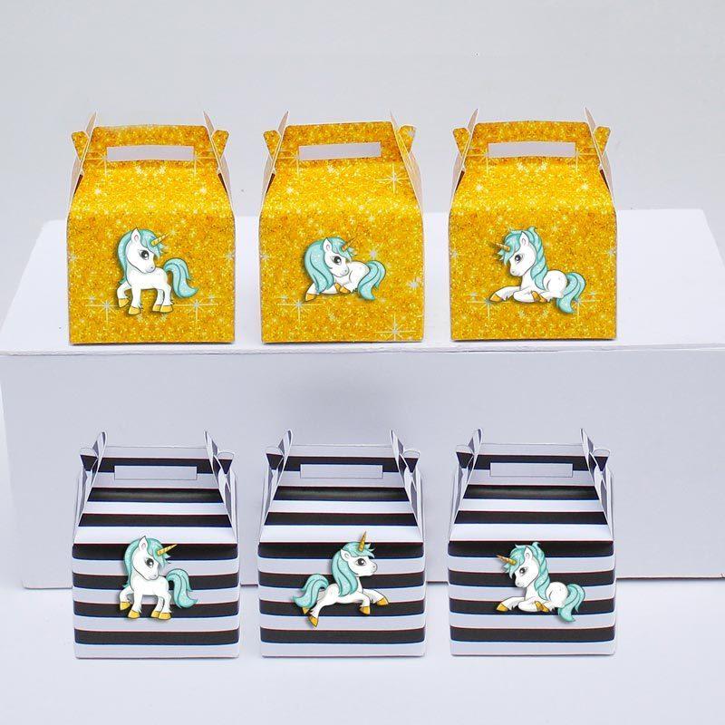 Set hộp quà Unicorn Boy màu đen im tuyến
