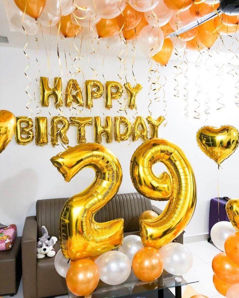trang trí sinh nhật tuổi 29