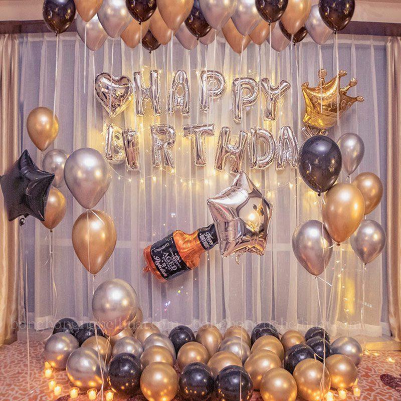 Trang trí sinh nhật bạn trai ý nghĩa