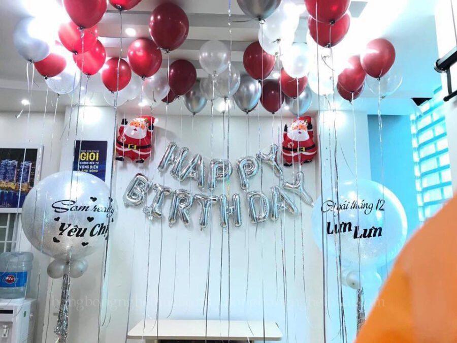 Trang trí sinh nhật cho chị gái