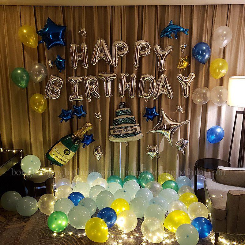 Trang trí sinh nhật cho người ấy lãng mạn
