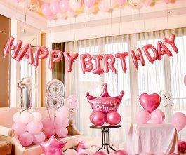 Trang trí sinh nhật công chúa 18 tuổi