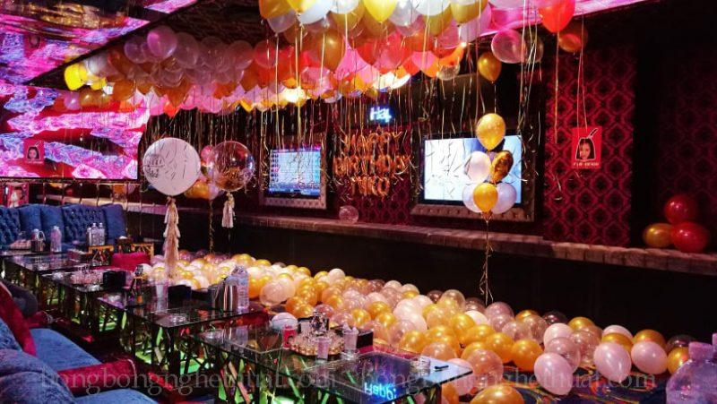 Trang trí sinh nhật cho người yêu tại phòng karaoke
