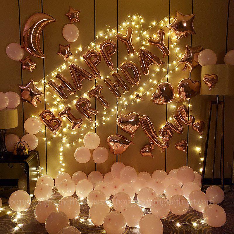 Trang trí sinh nhật ý nghĩa cho người yêu
