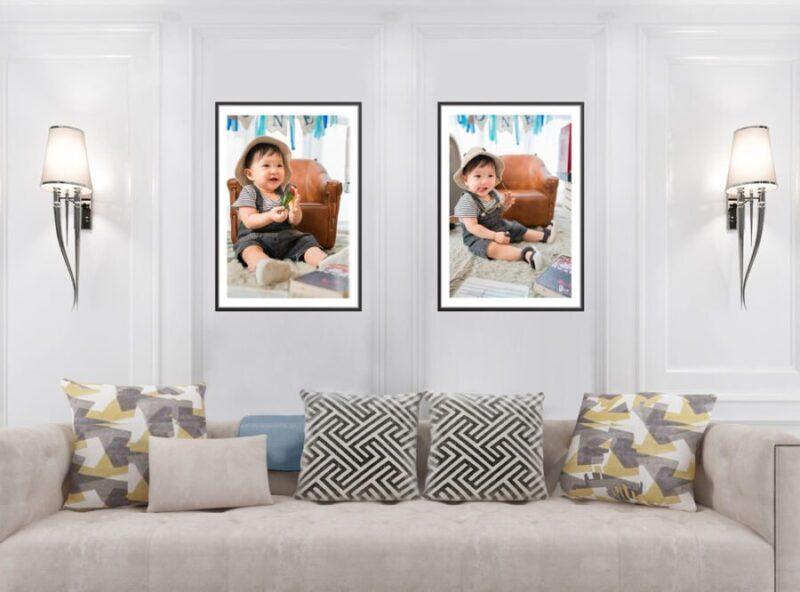Set 2 khung ảnh canvas 75x50