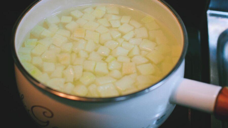 cách làm cùi bưởi căng tròn khi nấu chè bưởi