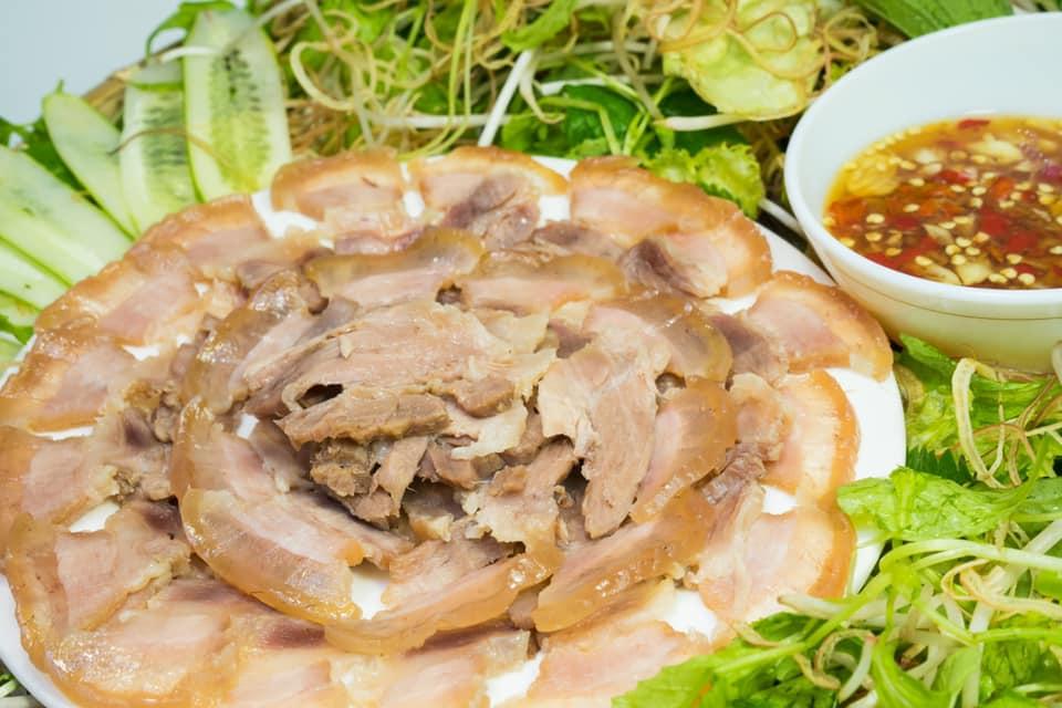 món thịt ngâm mắm ( thịt nấu nắm )