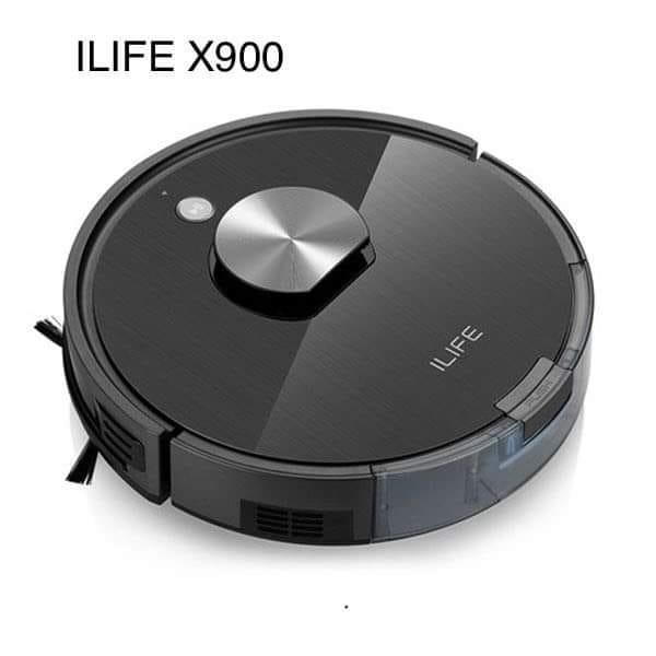 review robot hút bụi ilife x900