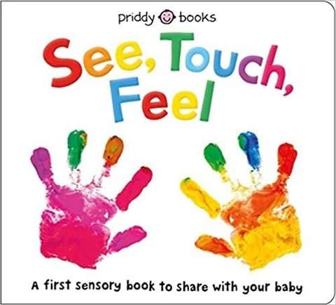 Xem, Chạm, Cảm nhận cuốn sách dành cho trẻ mới biết đi