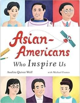 Người Mỹ gốc Á truyền cảm hứng cho chúng tôi bìa sách