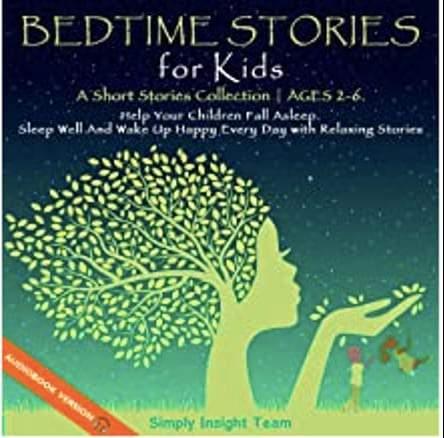 Bìa những câu chuyện trước khi đi ngủ cho trẻ em