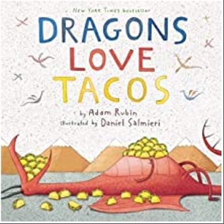 Bìa những câu chuyện về rồng tình yêu Tacos