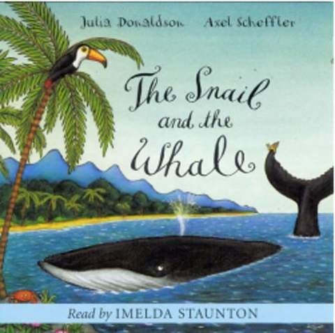 Bìa The Snail and the Whale