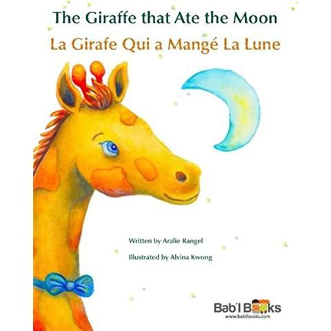 Sách thiếu nhi Pháp - Con hươu cao cổ Ate the Moon
