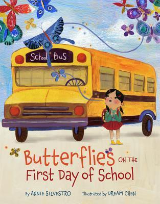 Sách Ngày đầu tiên đi học: Bướm trong Ngày đầu tiên đi học